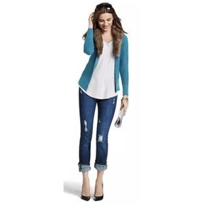 Cabi Teal Button Down Cardigan Style# 3018